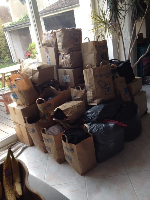 Départ de matériels pour Saint-Martin suite au passage de l'ouragan en 2018